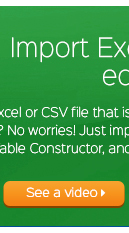 Import Excel do edycji tabeli WordPress
