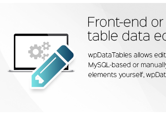 Front-end sau back-end de editare a datelor din tabel