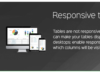 Tables Responsive dans WordPress