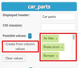 Selectbox Filter in WordPress Tables