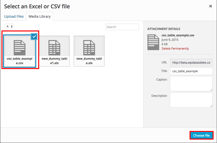 Importing CSV or Excel files to MySQL and WordPress using wpDataTables