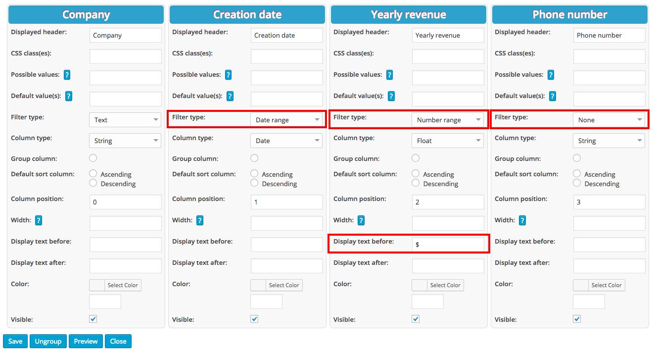 Using CSV tables in WordPress