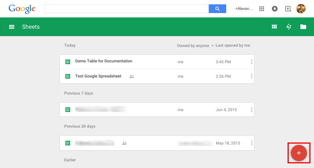 Google Spreadsheets in wpDataTables - Add New