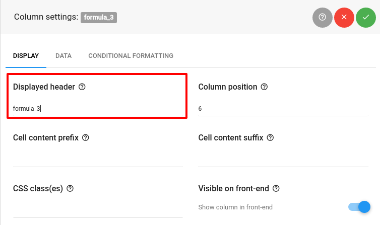 Formula (calculated) columns - wpDataTables - Tables and