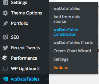 Create Excel-like editable table in wpDataTables