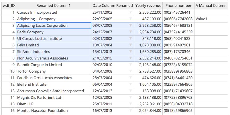 Edit Tables in WordPress like in Excel