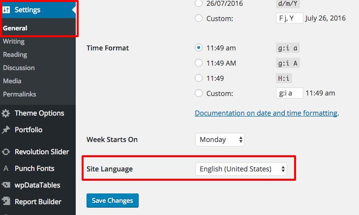 Localising wpDataTables - WordPress CRUD Manager