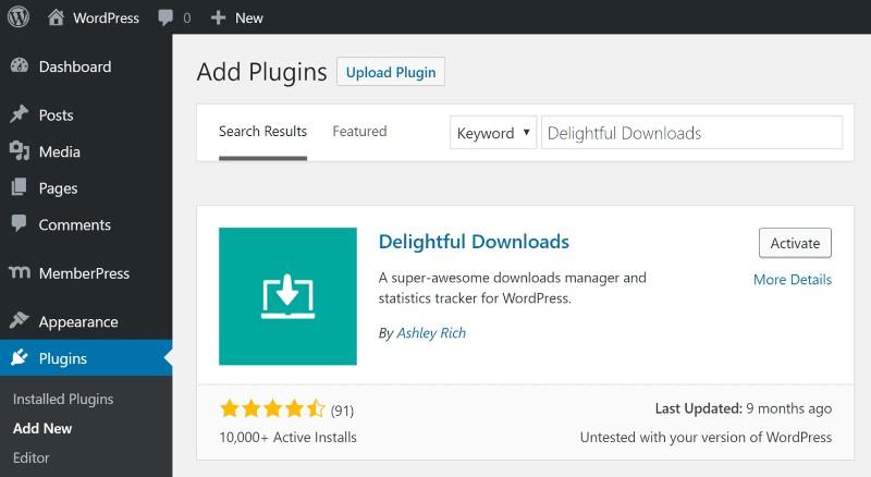 Best WordPress Download Manager Plugins - wpDataTables