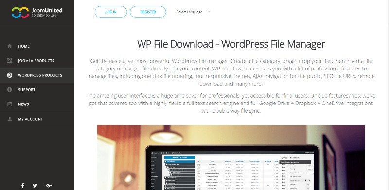Best WordPress Download Manager Plugins - wpDataTables