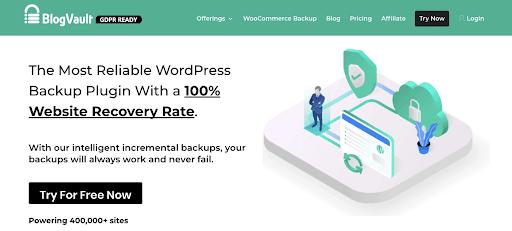 BlogVault Backup Services