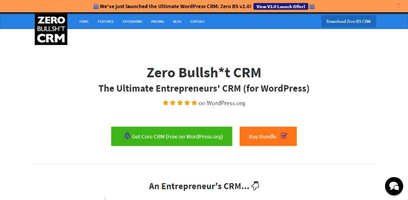 Check out these WordPress CRM plugins - wpDataTables