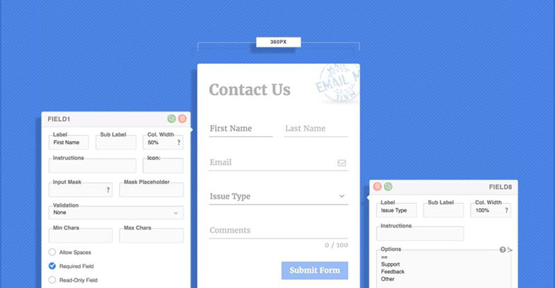 Top 9 WordPress Contact Form Options