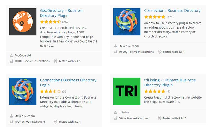 10 Terrific WordPress Directory Plugin Options to Consider