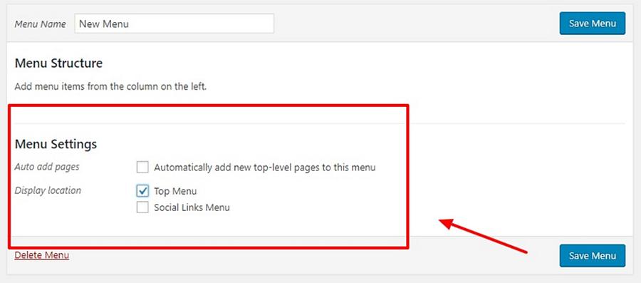 How to add a drop-down menu in WordPress