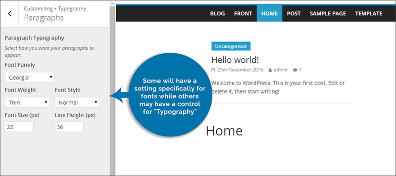 How to change fonts in WordPress with no hassle